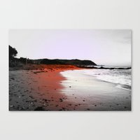 Red Sands Canvas Print