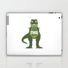 Amourosaurus Laptop & iPad Skin