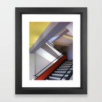 Bauhaus Staircase Framed Art Print
