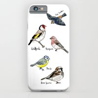 iPhone & iPod Case featuring English Birds by Rebecca Mcmillan