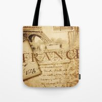 I ♥ France Tote Bag