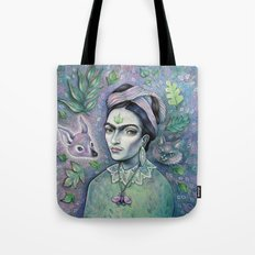 Magical Girl Frida Tote Bag