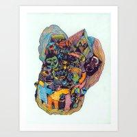 Circle Of Friends Art Print