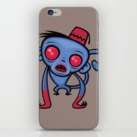 Zombie Monkey iPhone & iPod Skin