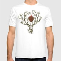 Chaos Reigns Mens Fitted Tee White SMALL