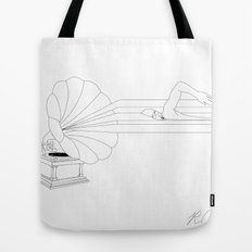 Swimming in Sound Tote Bag
