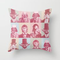 Pop Wars Throw Pillow