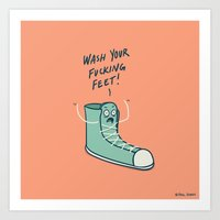 Soured Sole Art Print
