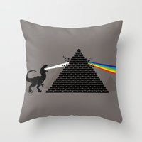Pyramidism Throw Pillow
