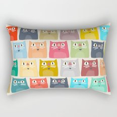 summer cats Rectangular Pillow