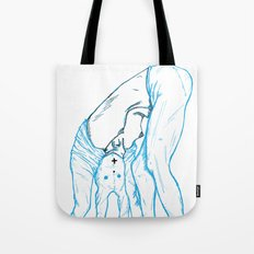 Girl 4 Tote Bag