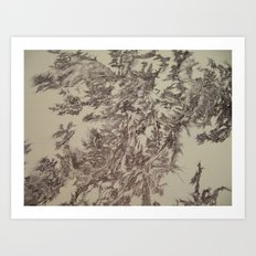 Digital Bunny-Segment 90 Art Print