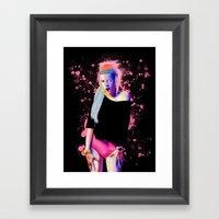 Yolandi Framed Art Print