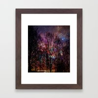 Life In The Forest Framed Art Print