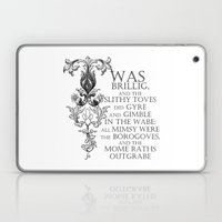 Alice In Wonderland Jabb… Laptop & iPad Skin