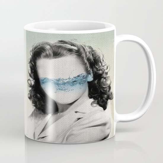 the glass half full Mug