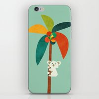 Koala On Coconut Tree iPhone & iPod Skin