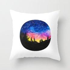 Aurora Borealis II Throw Pillow