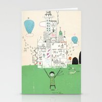 I love life. Stationery Cards