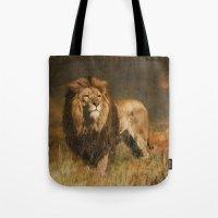 Serengeti Sunset Tote Bag