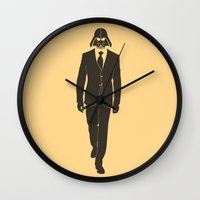 The Suit Is Strong With … Wall Clock