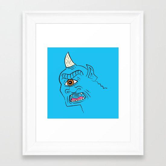 The Cyclops Framed Art Print