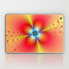 Floral Sprays in Red and Yellow Laptop & iPad Skin