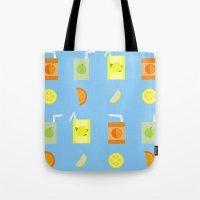 Juice Pattern  Tote Bag