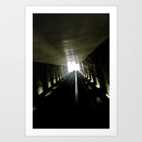 Ligth Games II Art Print