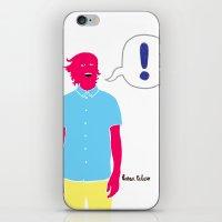 Le Cool Kid iPhone & iPod Skin