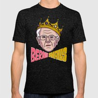 Bernie Smalls Mens Fitted Tee Tri-Black SMALL