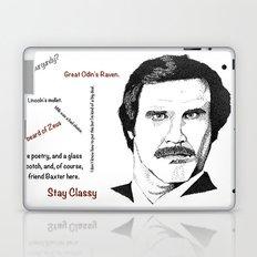 I'm Ron Burgundy? Laptop & iPad Skin