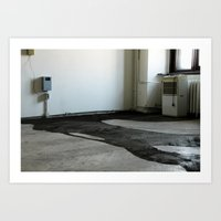 LOST PLACES - liquefied zonked man Art Print