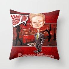The legendary...Barney Stinson! Throw Pillow