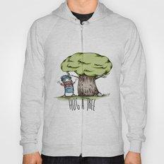 Hug a tree Hoody