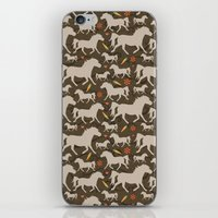 Ponies, Carrots, Pepperm… iPhone & iPod Skin