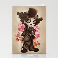 The Little Tramp Stationery Cards