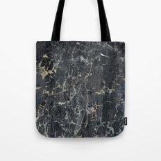 Old black marBLe Tote Bag