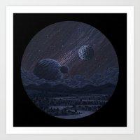Spacescape Art Print