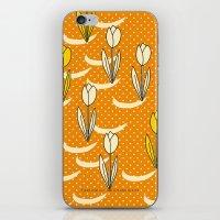 Oranje Tulpen iPhone & iPod Skin