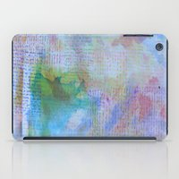 Words and Water Paint 3 iPad Case