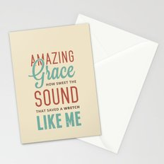 Amazing Grace Stationery Cards