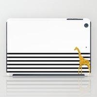 Gold Giraffe iPad Case