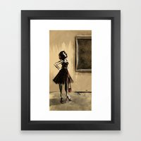 The Museum Of Modern Art Framed Art Print