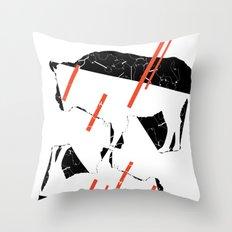 Buffalo Tandem Radar Throw Pillow