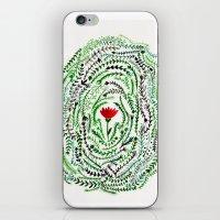 Pretty flower iPhone & iPod Skin