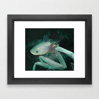 Axolante Framed Art Print