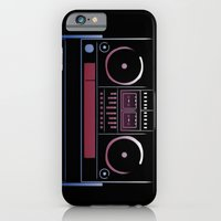 iPhone & iPod Case featuring Boombox  by JoPruDuction Art