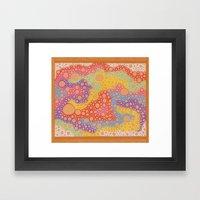 Bubbles 8 Framed Art Print