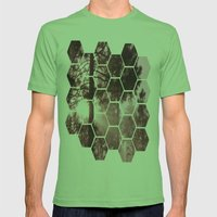 Sunrising Mens Fitted Tee Grass SMALL